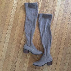 Steve Madden Gabriela Thigh High Boots - Taupe